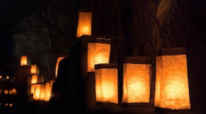 Luminaria is an old holiday tradition that we want to bring back this season.